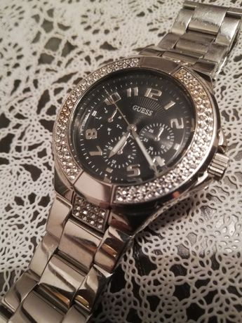 Guess Daniel Klein zegarek damski srebrny