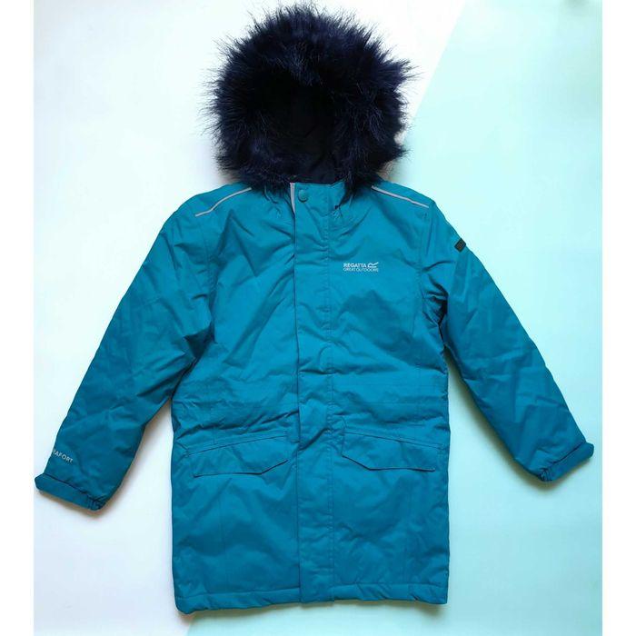 Водонепроницаемая утепленная куртка-парка Regatta 122-128 демисезон Полтава - изображение 1
