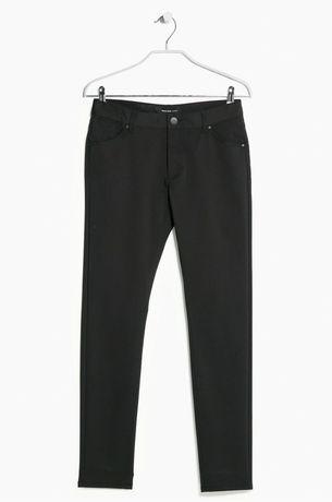 Spodnie Mango czarne neoslim z metką L 40