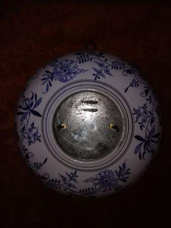 Porcelanowa obudowa do zegara wiszacego Gustav Boessenroth Berlin S.