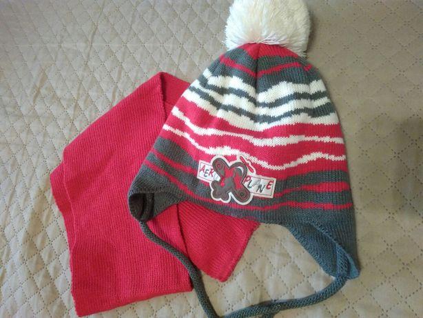 Шапка шарф 2 года
