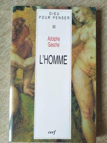 Książka po francusku Adolphe Gesche L'Homme