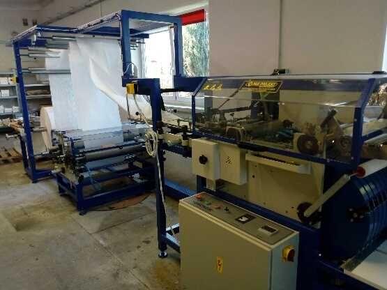 maszyna do produkcji torebek fałdowych