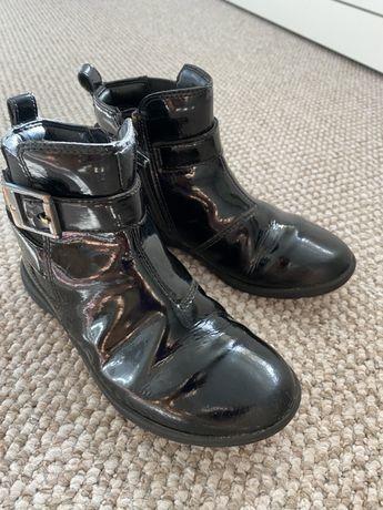 Сапоги ботинки Clarks демисезон осенние р.28