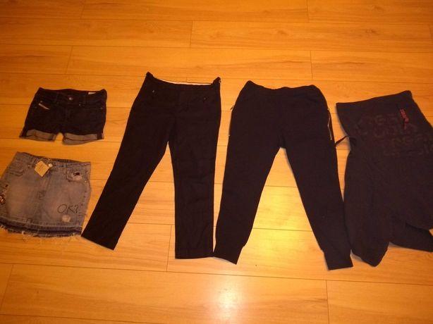 Zara pull near diesel Cropp spodnie spódnica m 38 zestaw