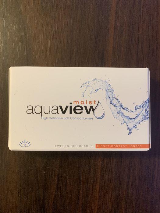 Aquaview soczewki kontaktowe +1,5 Poznań - image 1