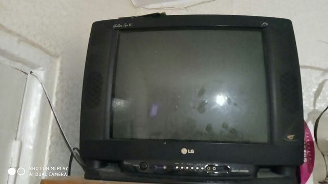 Телевизор в робочем состояние