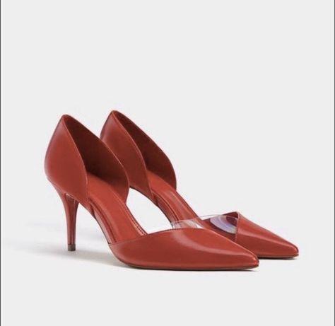 Шикарные туфли лодочки Bershka Zara