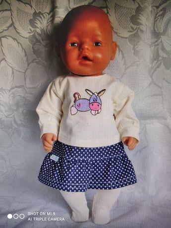 Zestaw ubranek dla lal typu baby Born i hiszpańskie r 41-43 cm.