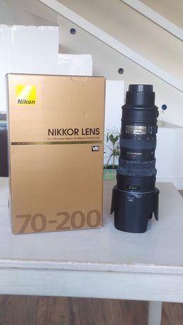 obiektyw NIKON NIKKOR AF-S VR Zoom 70-200 f2.8G IF-ED