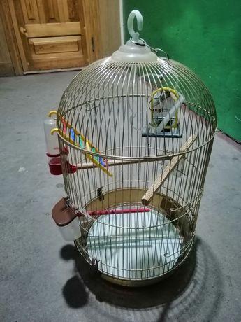 """Клітка для попугаїв """"Золота"""""""