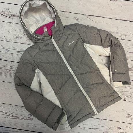 Лыжная куртка Wed'ze для девочки 8 лет бу