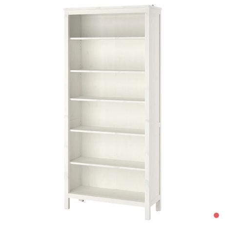 HEMNES Regał Ikea biała bejca 90x197 cm Nowy