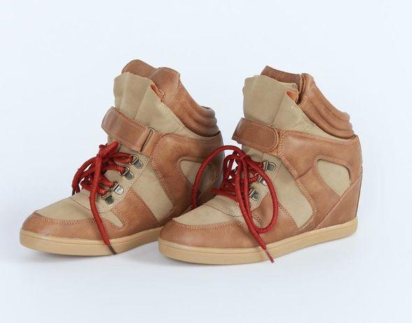 Buty damskie Diverse z koturnem wewnętrznym rozmiar 40 nowe