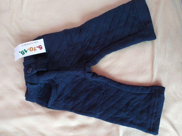 Spodnie lekko ocieplane