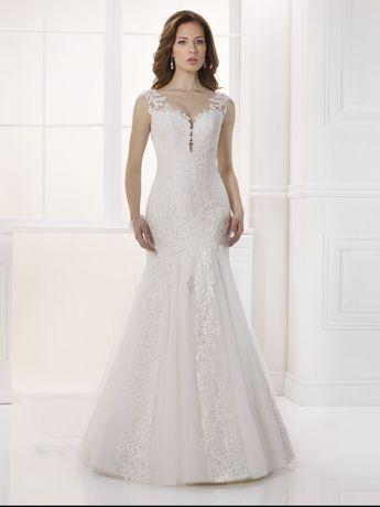 Suknia ślubna Nabla Paris, długi welon GRATIS!