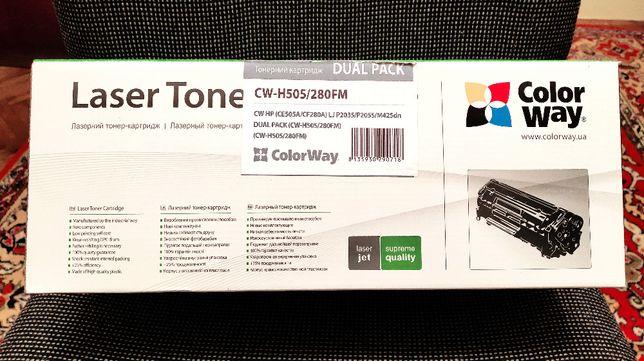 Картриджі CW-H505/280FM для лазерних принтерів hewlett packard і canon