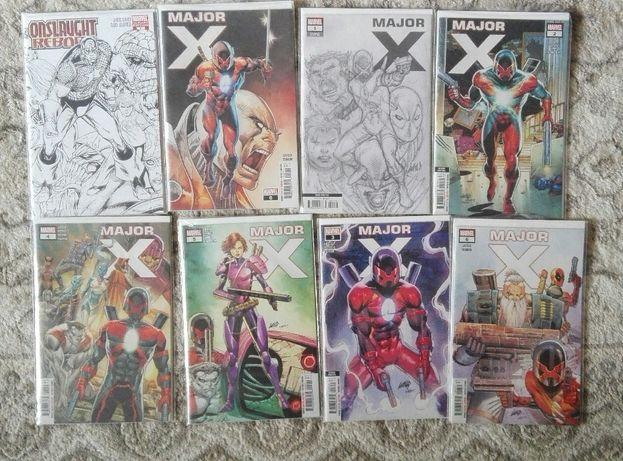 Komiks Marvel Major X Rob Liefeld [zeszyty]
