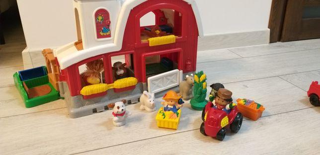 Farma Fisher Price Little People ze zwierzętami i ludzikami