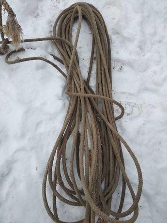 Верёвка плетена.