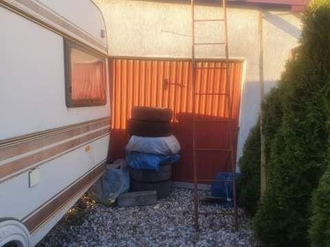 Brama garażowa blaszana