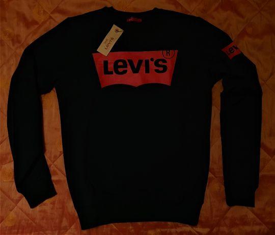 LEVIS bluza longsleeve czarna super kolor unikat OKAZJA XL