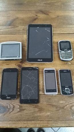 Tablet e telemoveis para peças
