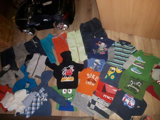 Paka ubrań dla chłopaka bluza spodnie 92 98