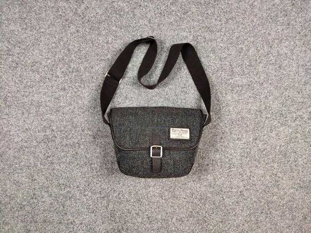 Очень красивая сумка мессенджер Harris Tweed  british Burberry Moncler