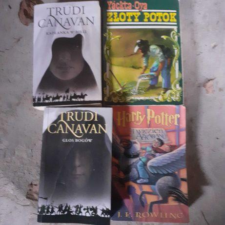 Zestaw książek Trudni canavan złoty potok Harry Potter