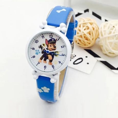 Nowy zegarek dziecięcy Psi Patrol piesek Chase