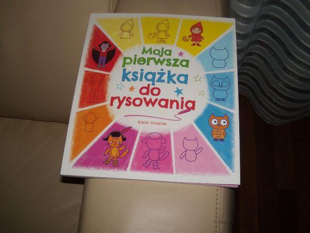 Moja pierwsza książka do rysowania Kasia Dudziuk