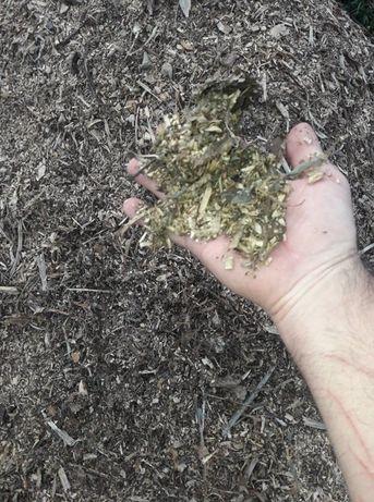 Zrębka biomasa opał