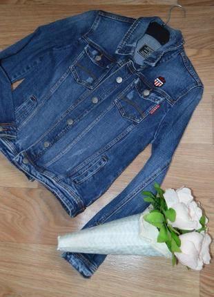 Крутая фирменная джинсовая курточка   женская