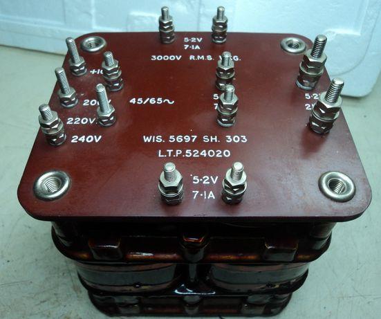 Transformadores equipamento Rádiamador válvulas
