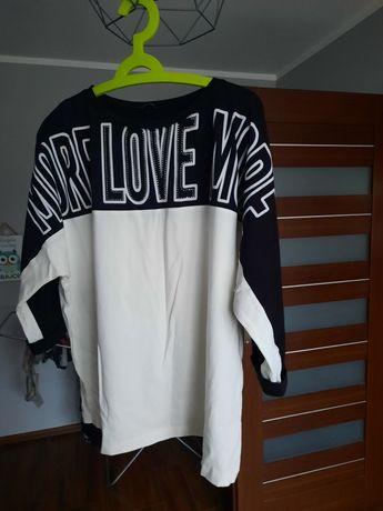 Bluzka Love z cyrkoniami