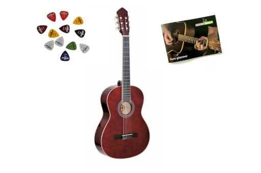 Gitara Klasyczna Ambra Luna 4/4 + Gratisy + Darmowa Wysyłka!
