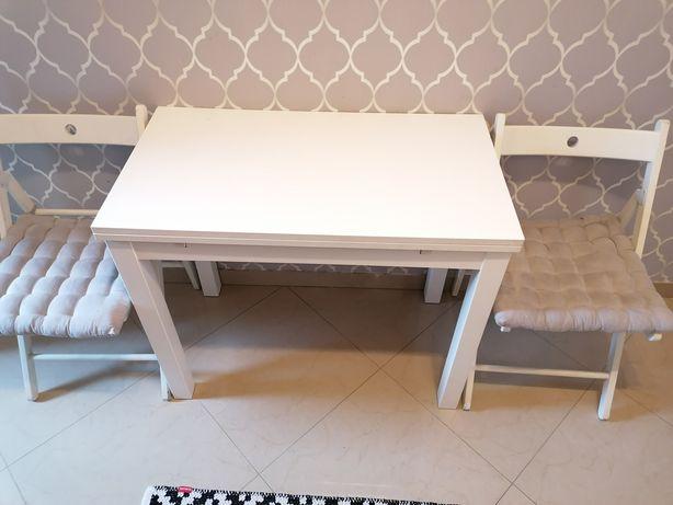 Zestaw kuchenny stol krzesła stan bdb