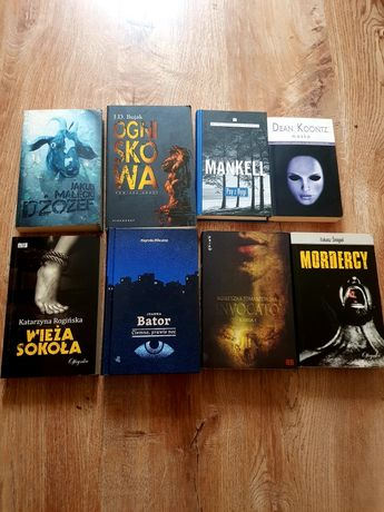 Zestaw thrillerów i horrorów