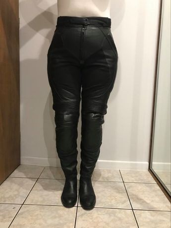 spodnie rst skórzane damskie 42 xl