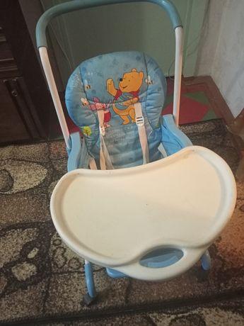 Детский стульчик-столик