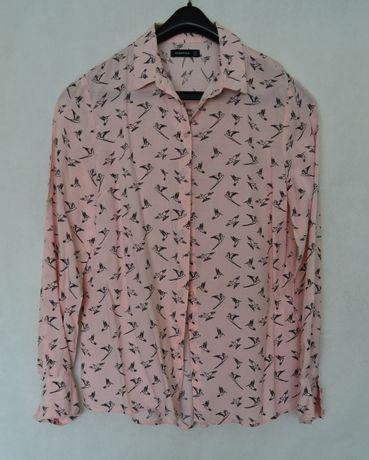 Koszula w ptaki Reserved 34 XS