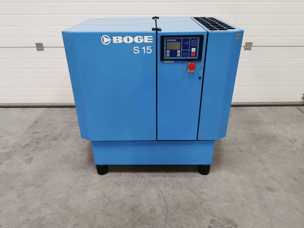 Sprężarka śrubowa 11kw BOGE S15 kompresor 1600l/min 10 BAR