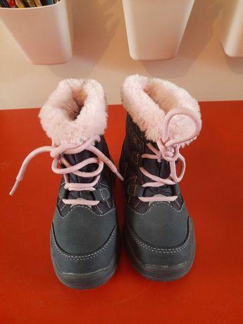 Buty zimowe, rozm. 26, dziewczynka