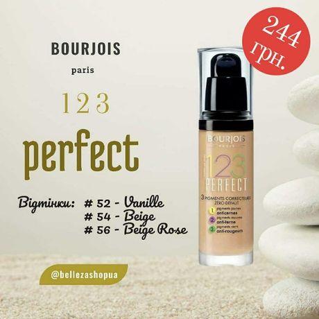 Тональний крем Bourjois 123 Perfect Foundation