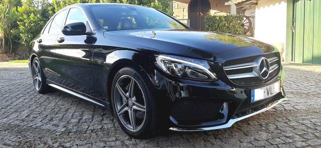 Mercedes C 200 D AMG... Full Extras!! Sempre assistido na marca!!