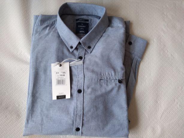 Nowa koszula carry niebieska xxxl męska