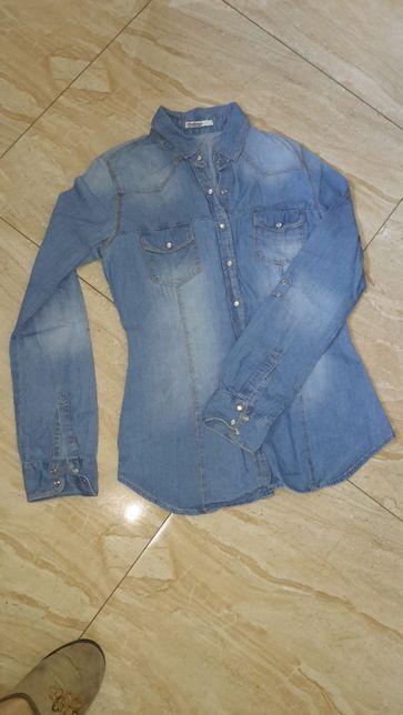 Koszula jeans damska