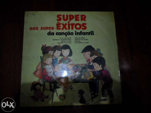 Disco de Vinil-Super Êxitos
