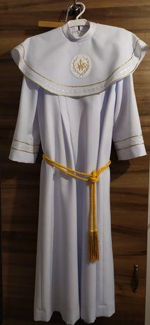 Alba, sukienka komunijna, bolerko, torebka - na ok 128 rozm.